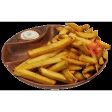 Картофель фри с соусом спайси